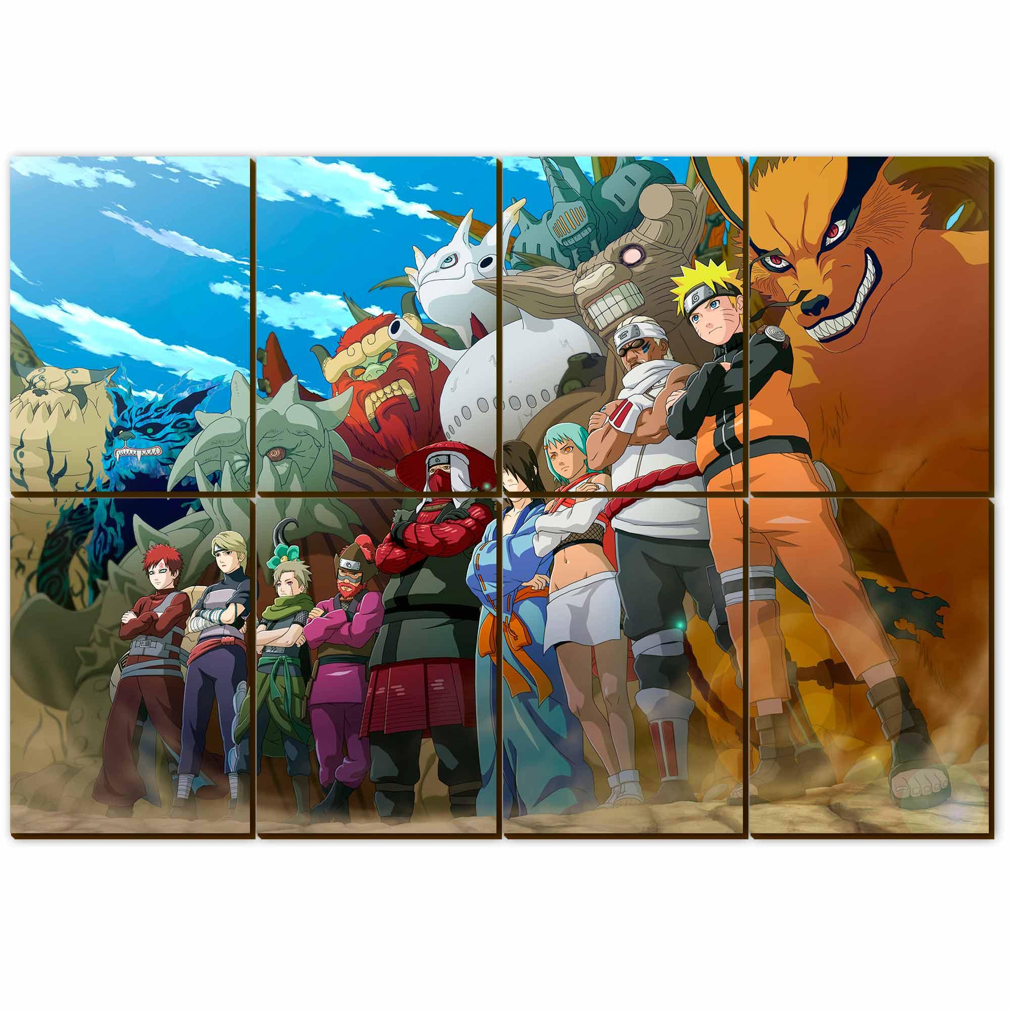 Mosaico - 9 Jinchurikis
