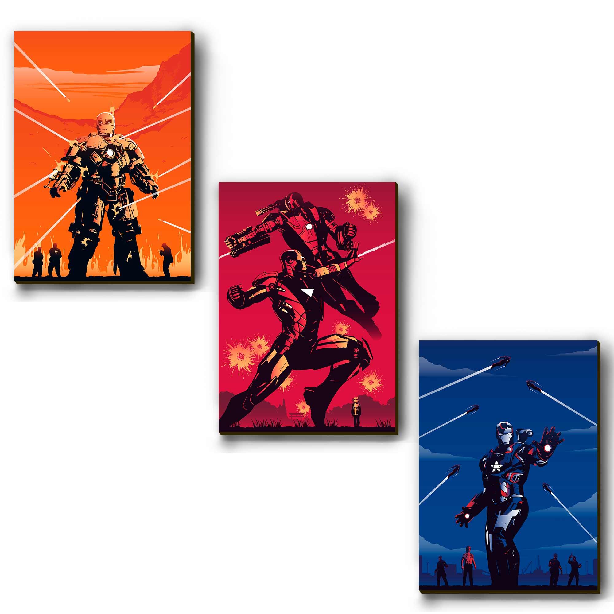 Mosaico - Armaduras Homem de Ferro