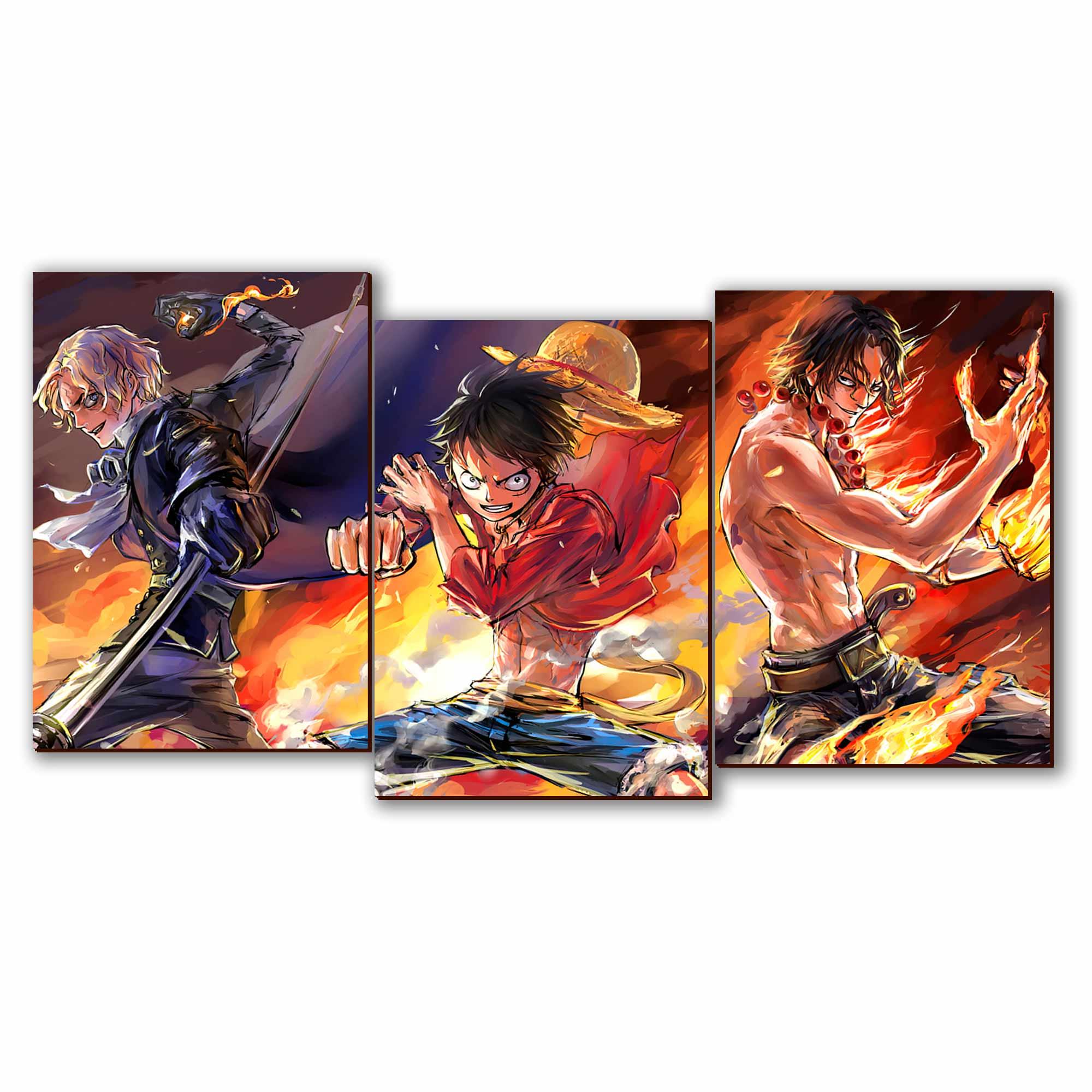 Mosaico - Luffy, Ace e Sabo