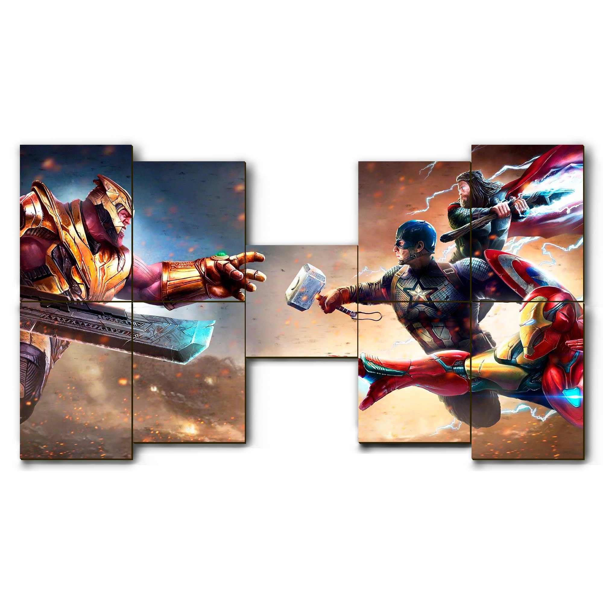 Mosaico - Thanos vs O Trio