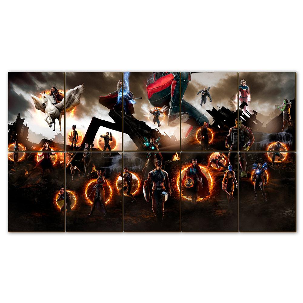 "Mosaico - Vingadores Ultimato ""Batalha Final"""