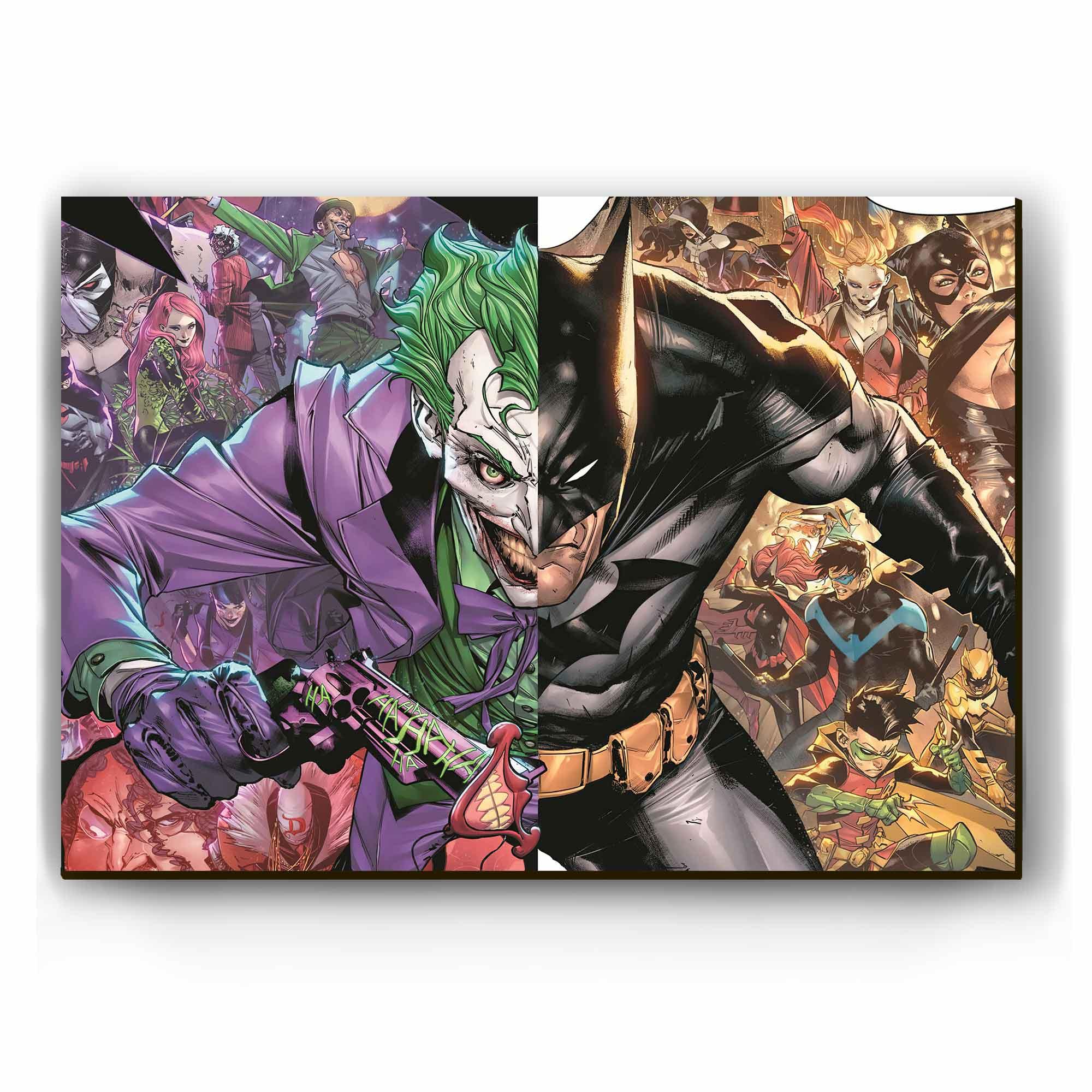 Quadro - Batman vs Coringa