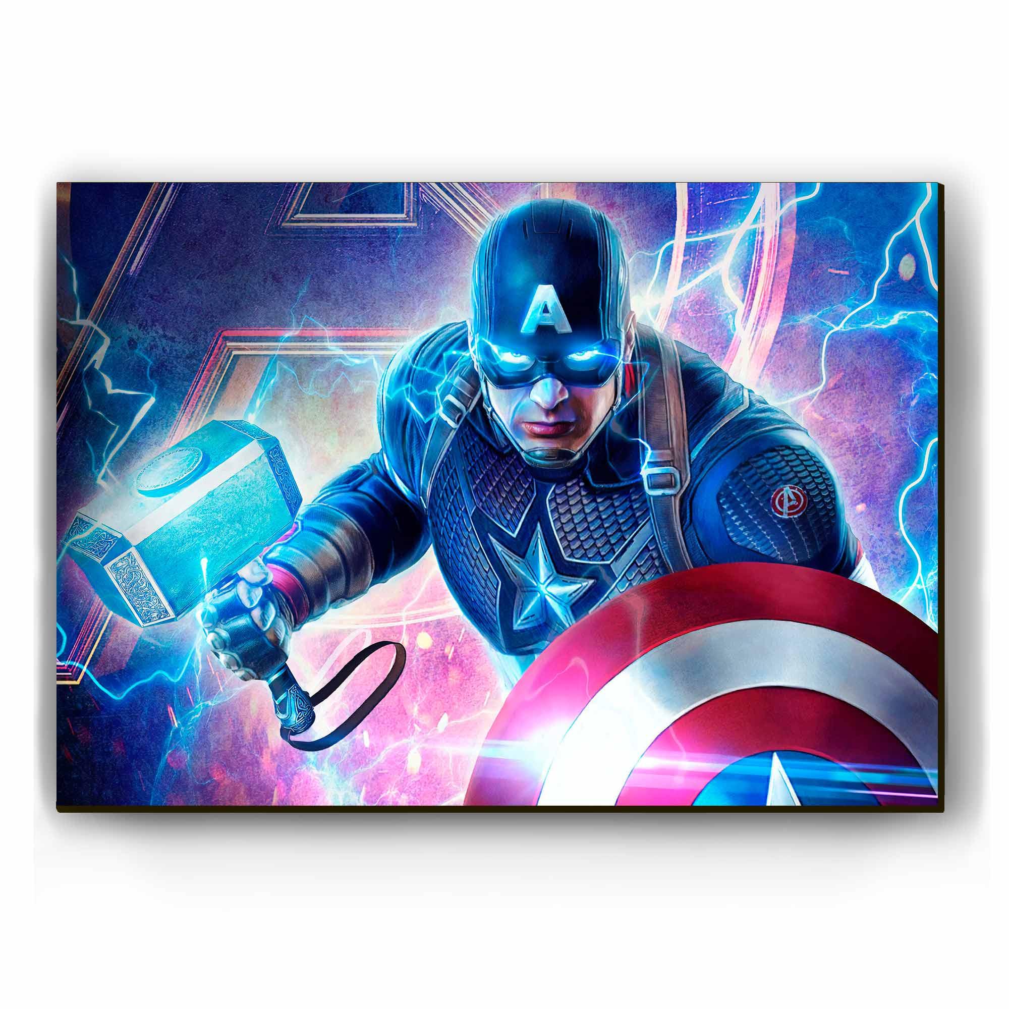 Quadro - Capitão América