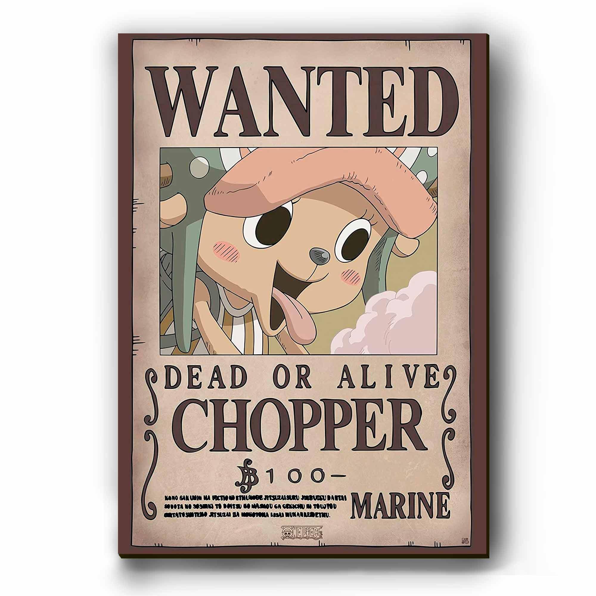 Quadro - Cartaz de Procurado Chopper