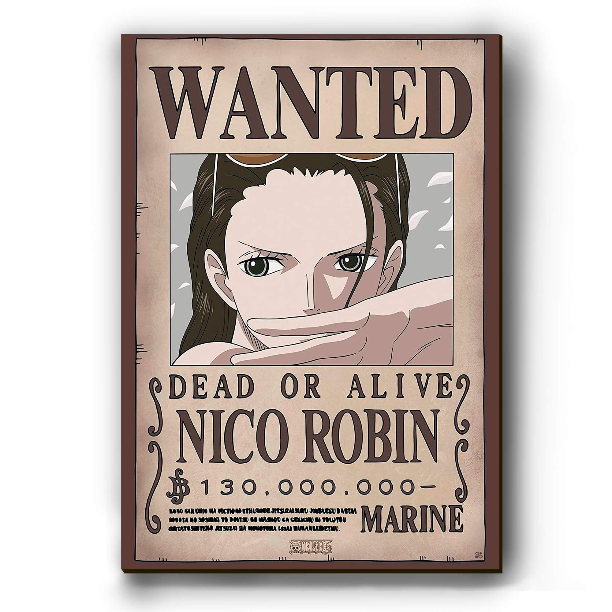 Quadro - Cartaz de Procurado Robin