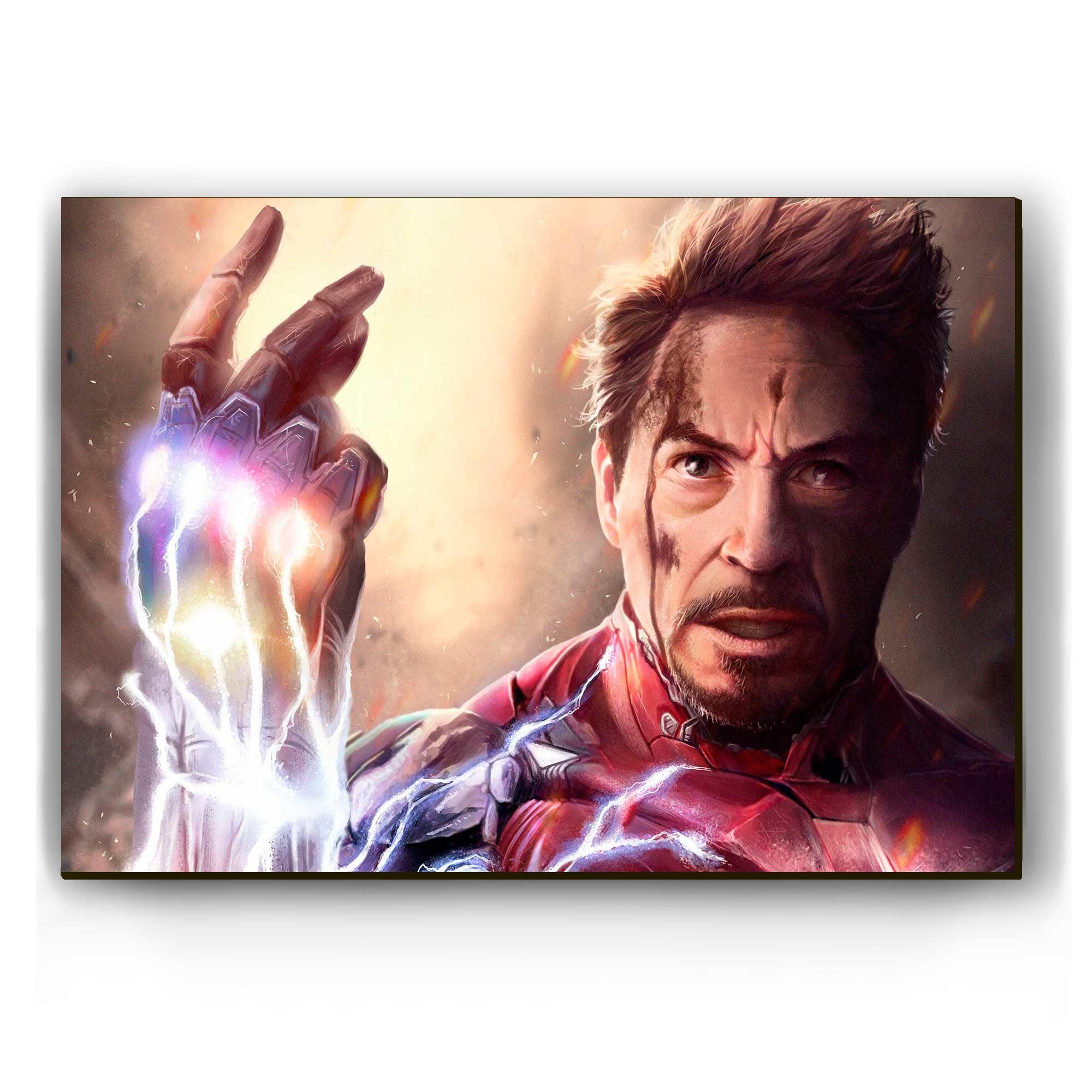 """Quadro - """"Eu sou o Homem de Ferro"""""""