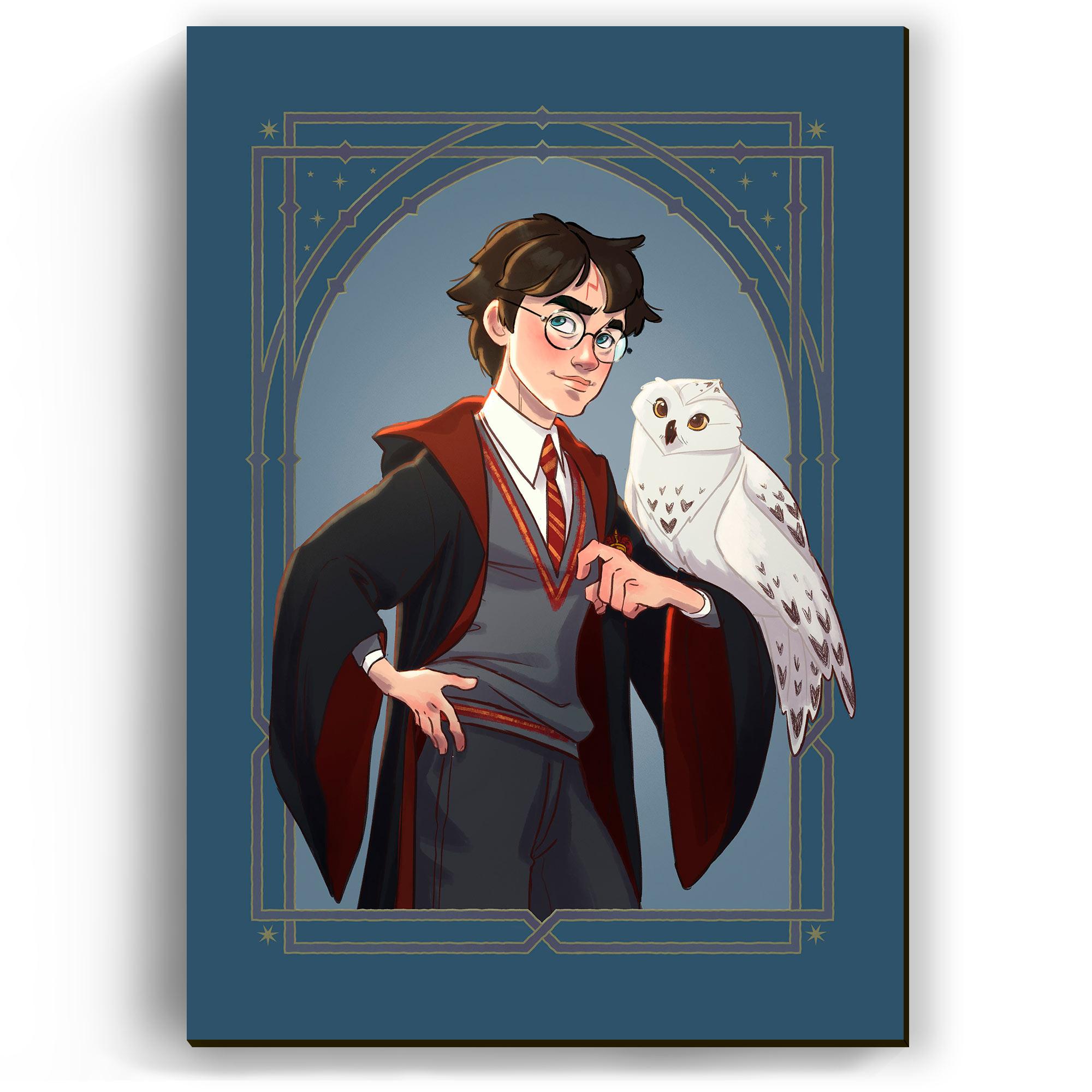 Quadro - Harry Cartoon