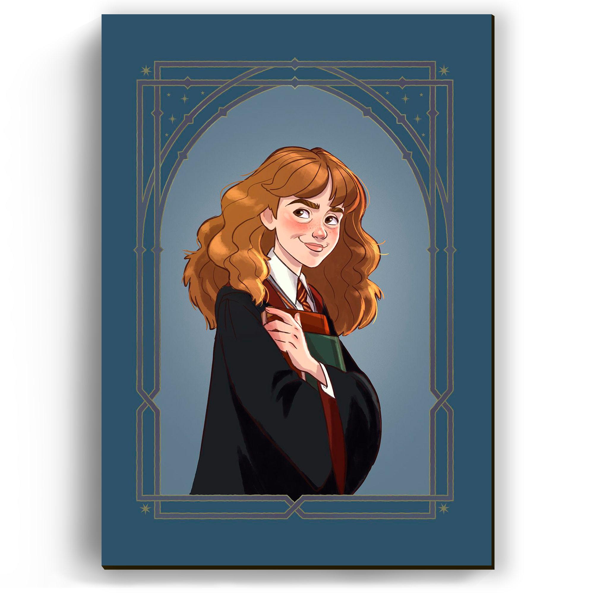 Quadro - Hermione Cartoon