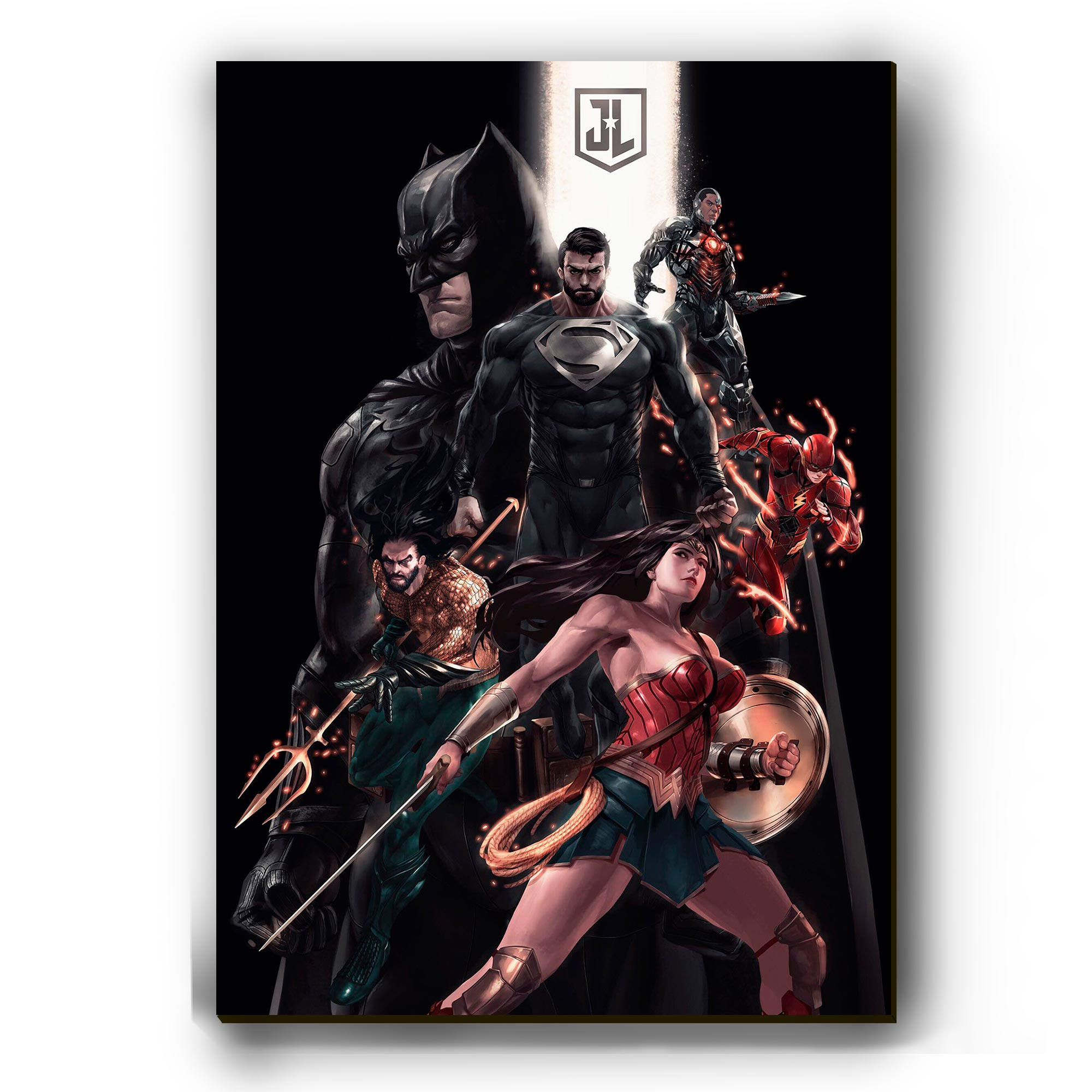 Quadro - Justice League Art