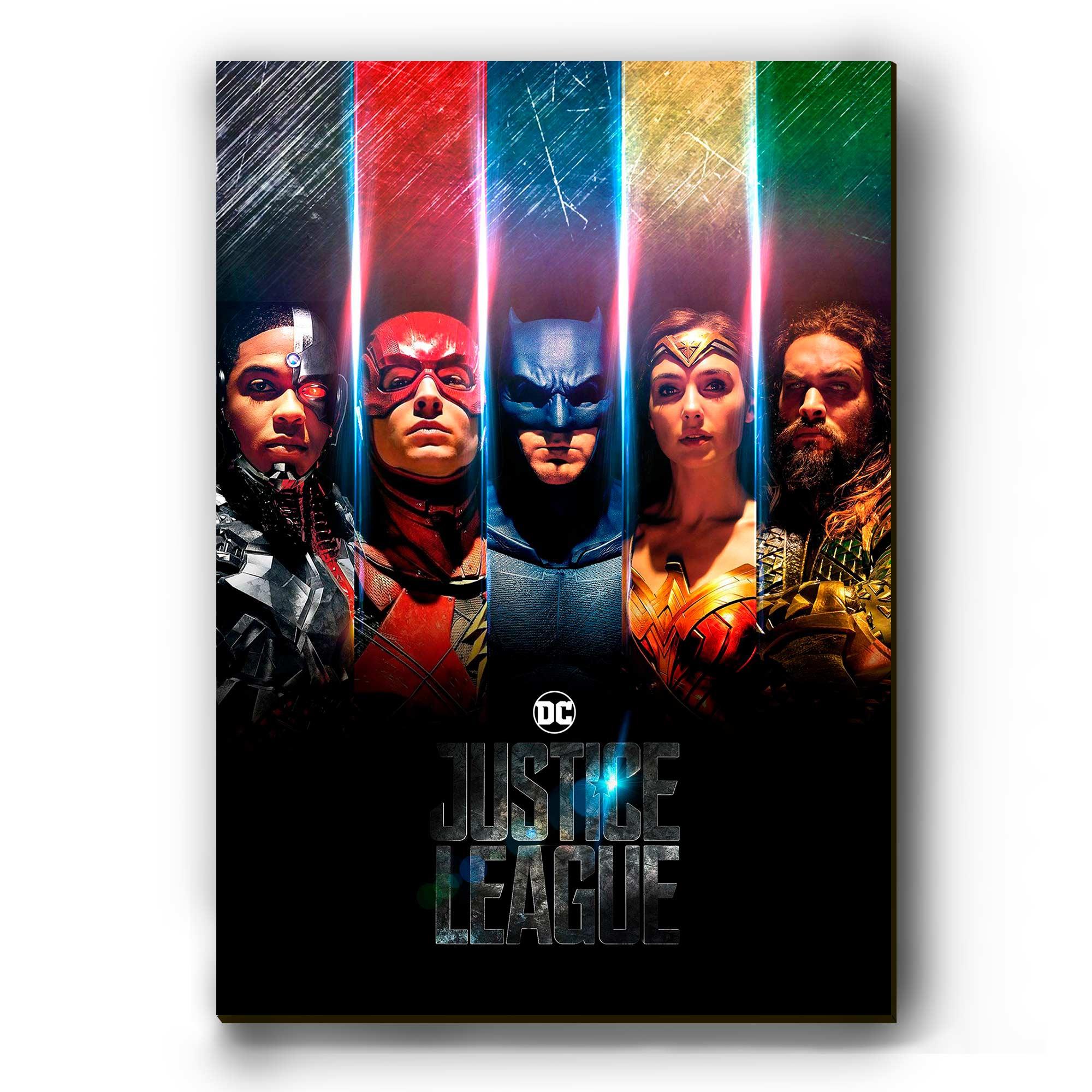 """Quadro - Justice League """"Colors"""""""