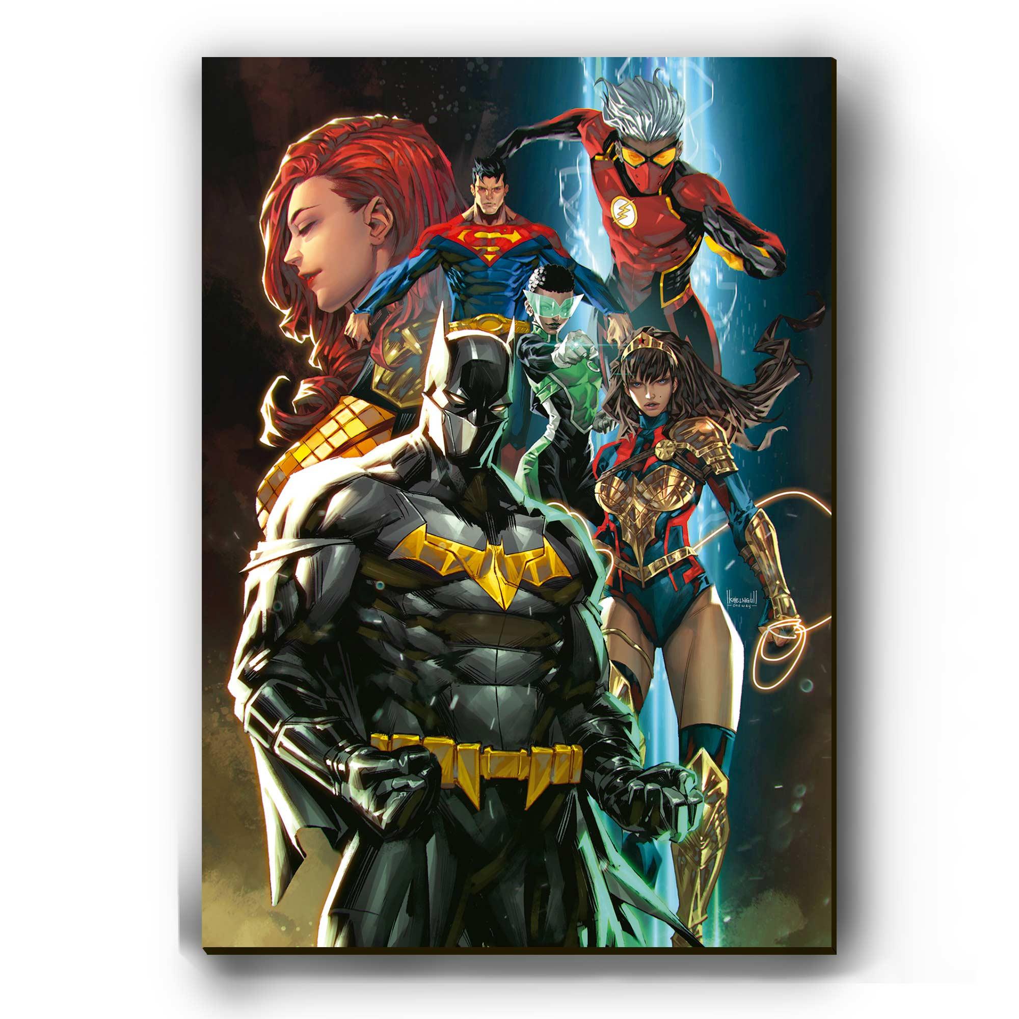 "Quadro - Justice League ""Future State"""