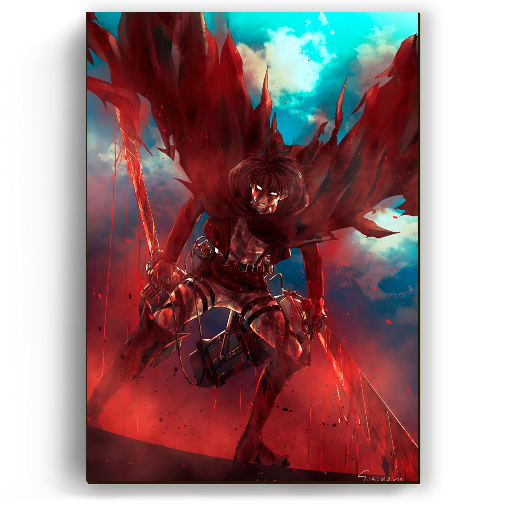 """Quadro - Levi """"Anjo de Sangue"""""""