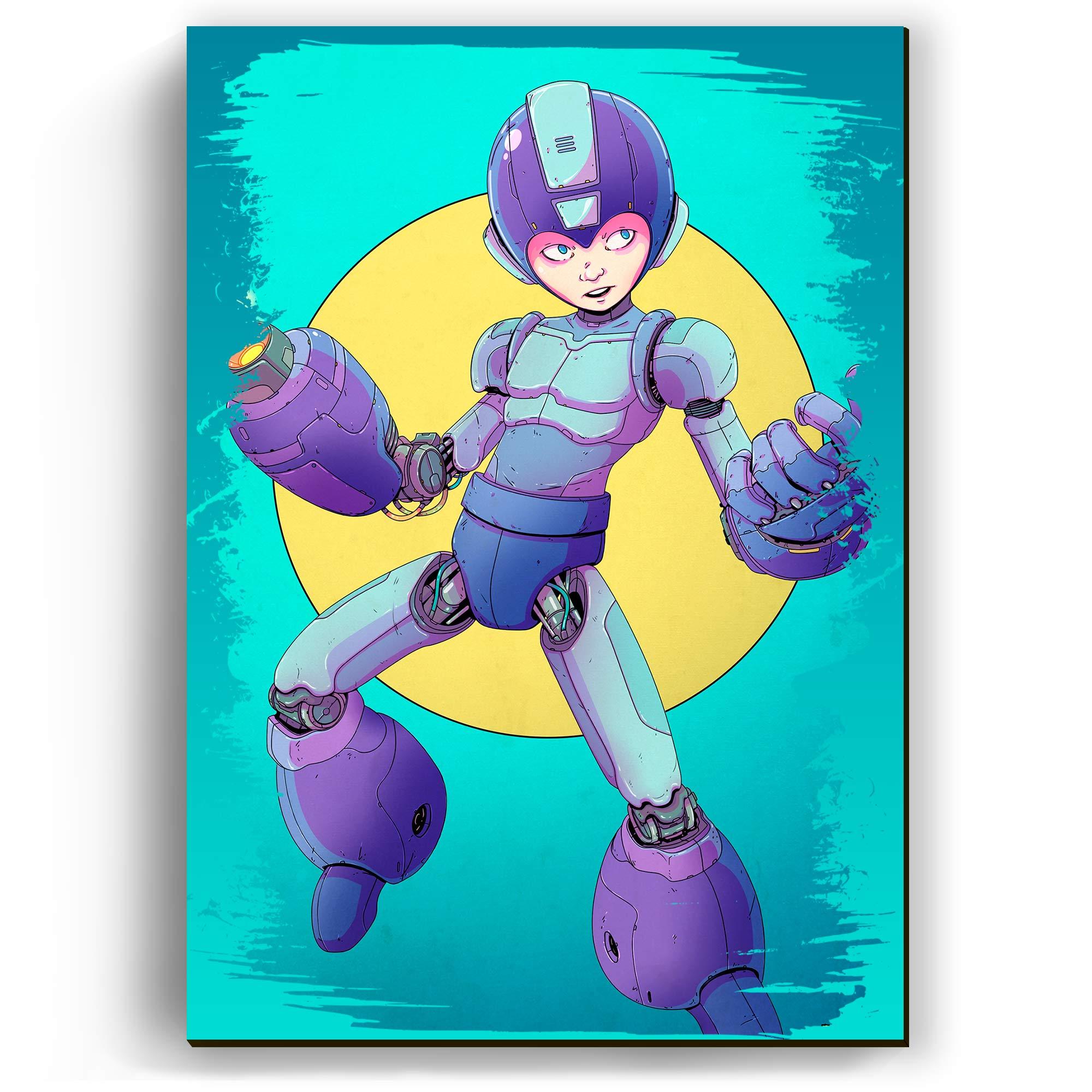 Quadro - Mega Man