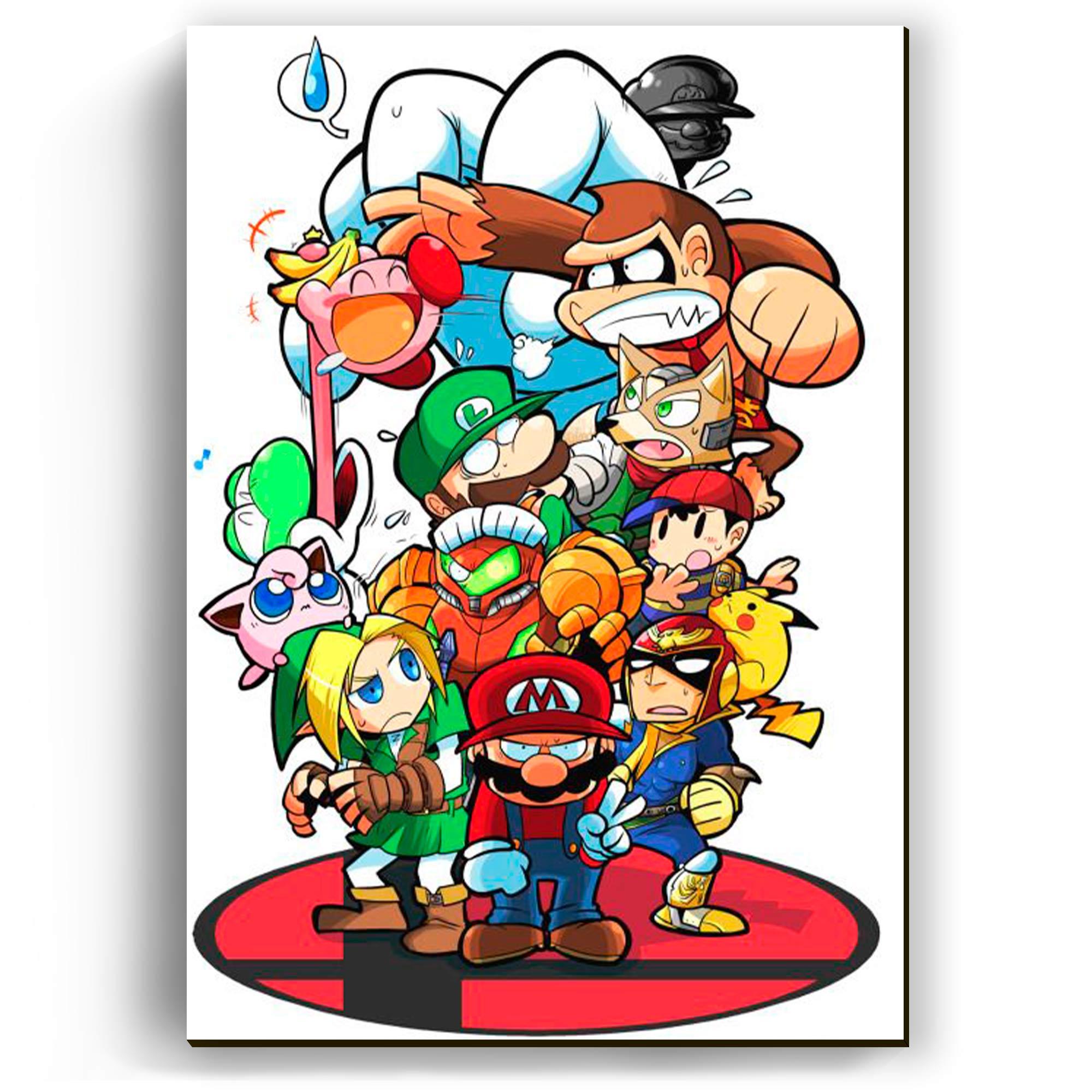 Quadro - Nintendo All Stars
