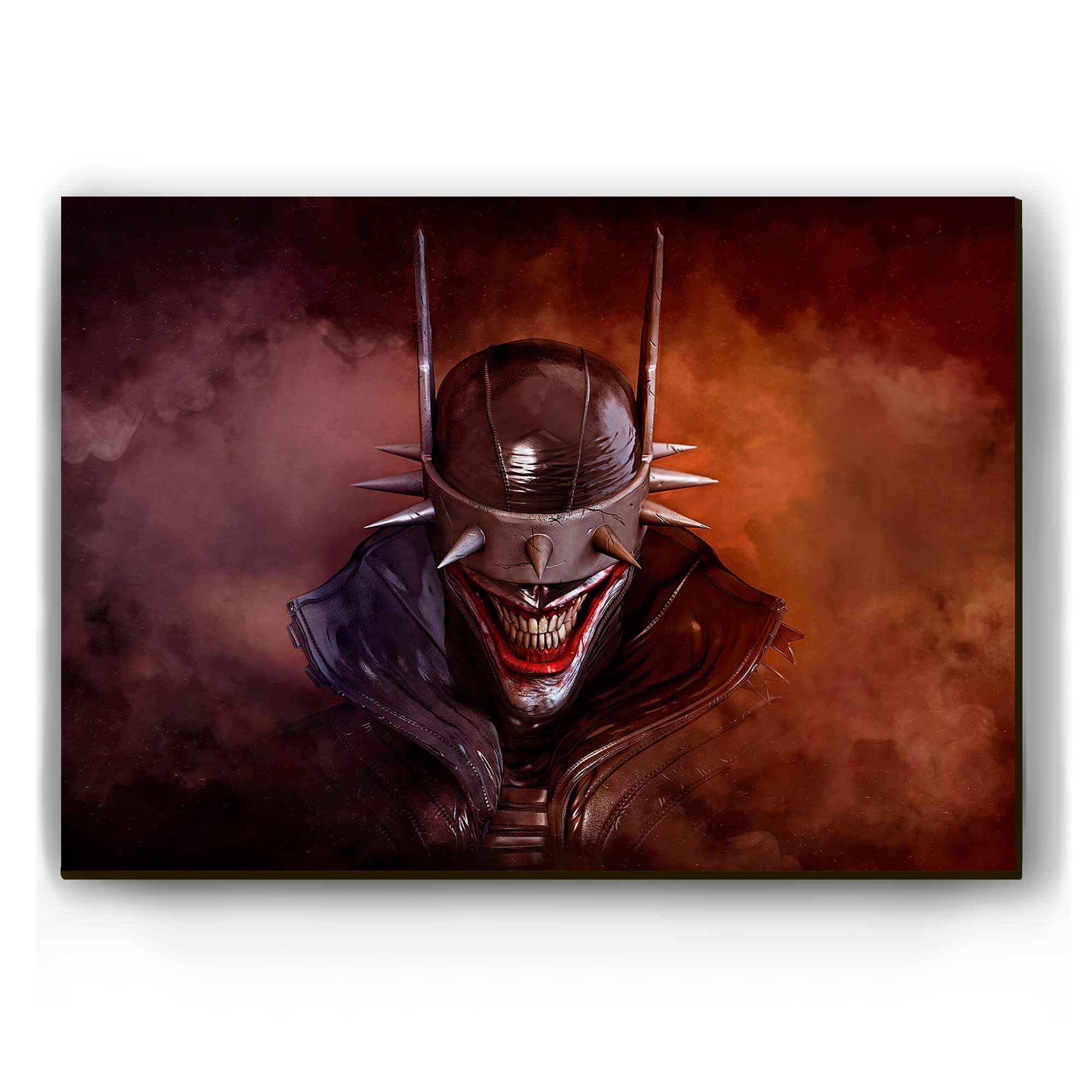 Quadro - O Batman Que Ri