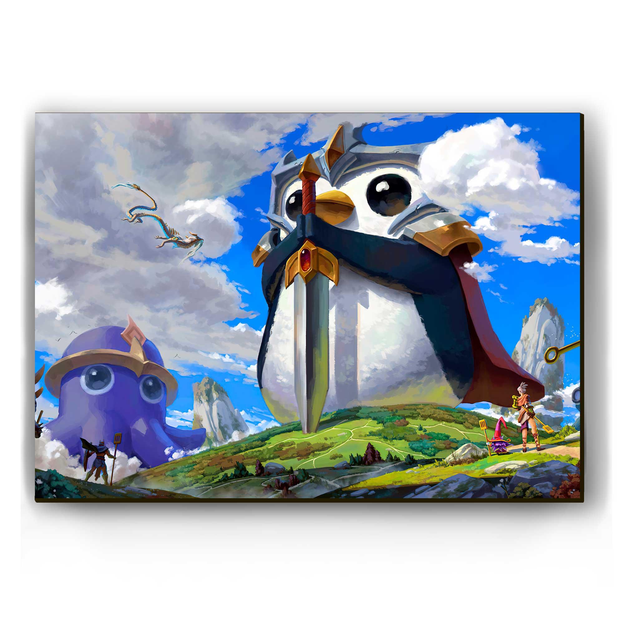 Quadro - Pingu