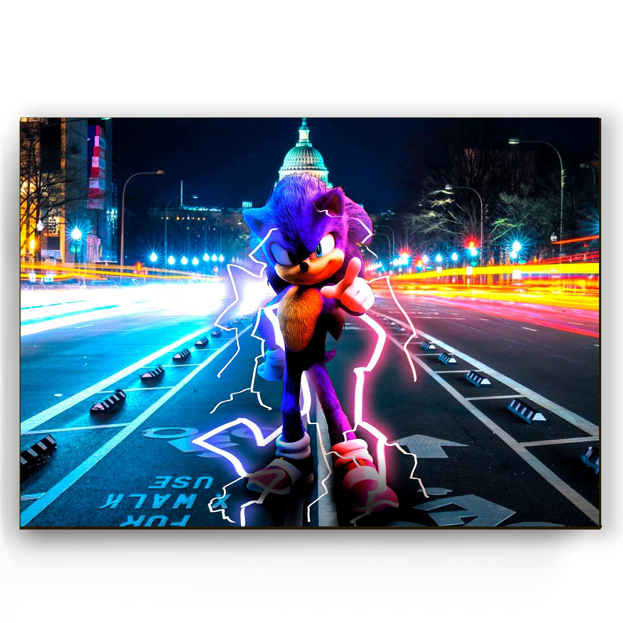 Quadro - Sonic O Filme