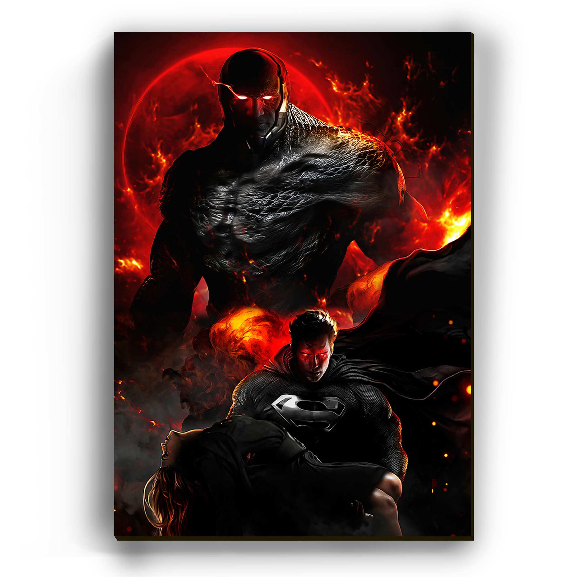 Quadro -  Superman Fury