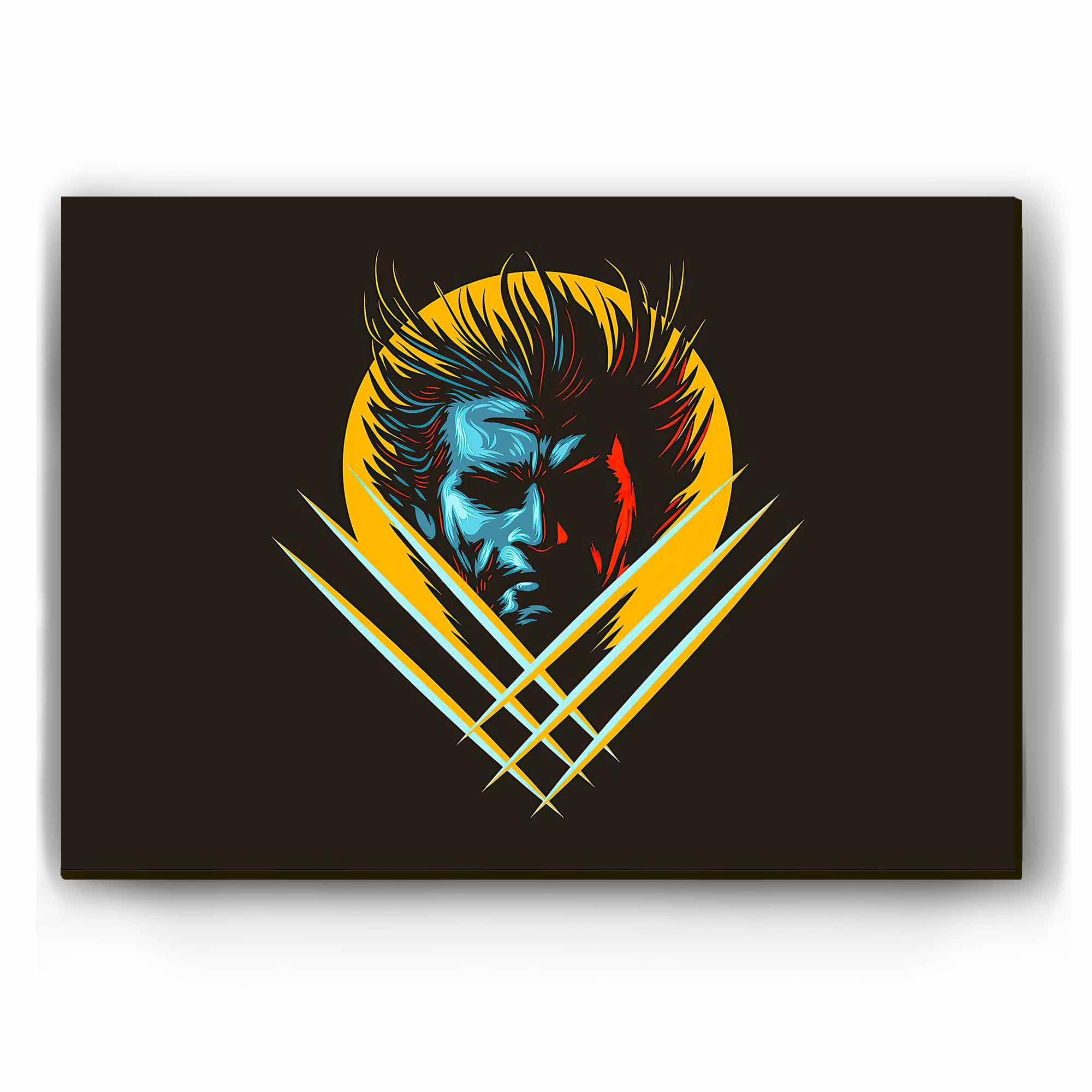 Quadro - Wolverine Minimalista