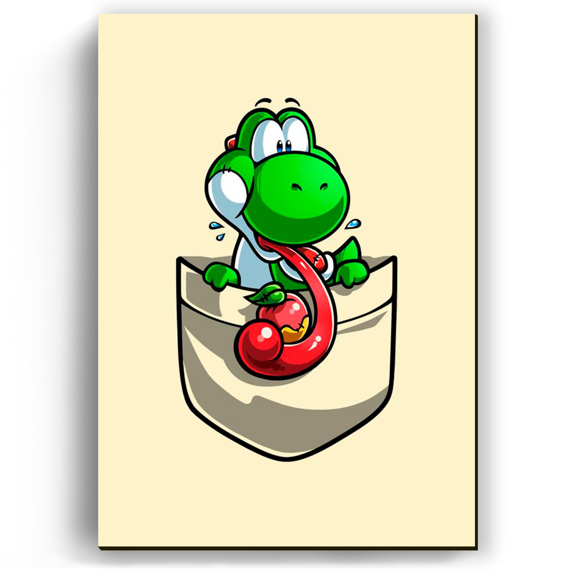Quadro - Yoshi no Bolso