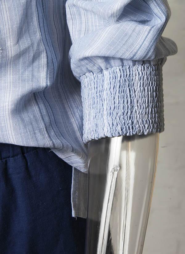 Blusa algodão Resort Couture