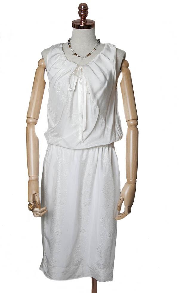 Vestido Huis Clos seda