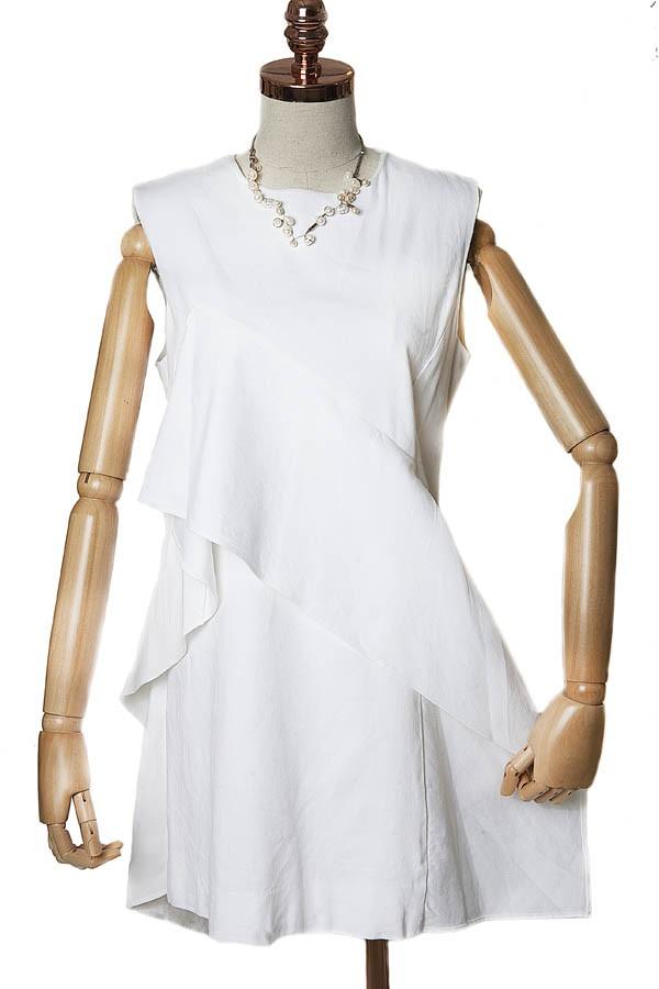 Vestido Linho Diane von Furstenberg