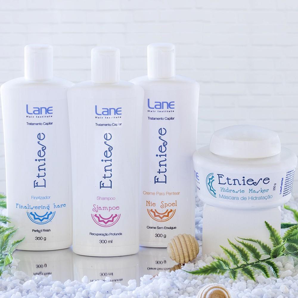 Linha Etniese para cabelos danificados por químicas