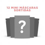 12 mini máscaras