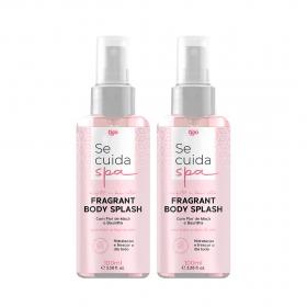 2x Fragrant Body Splash Perfumado Se Cuida Spa 100ml