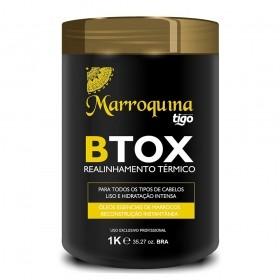 Botox Realinhamento Térmico Marroquina 1Kg - Tigo Cosméticos