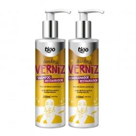 Kit Banho de Verniz 250ml - Tigo Cosméticos
