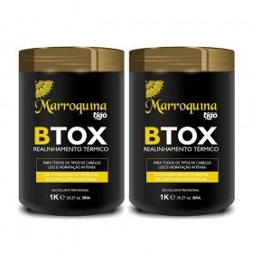Kit Botox Completo Marroquina 1Kg - Tigo Cosméticos