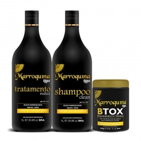 Kit Progressiva Marroquina 1L + Botox 250g
