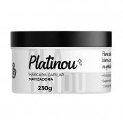 Máscara Platinou 230g | Ganhe 1 Shampoo