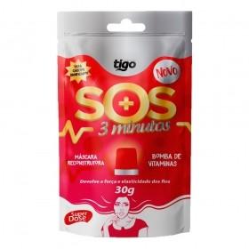 Sachê SOS 3 Minutos 30g - Tigo Cosméticos