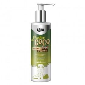 Shampoo Pudim de Coco 250ml - Tigo Cosméticos