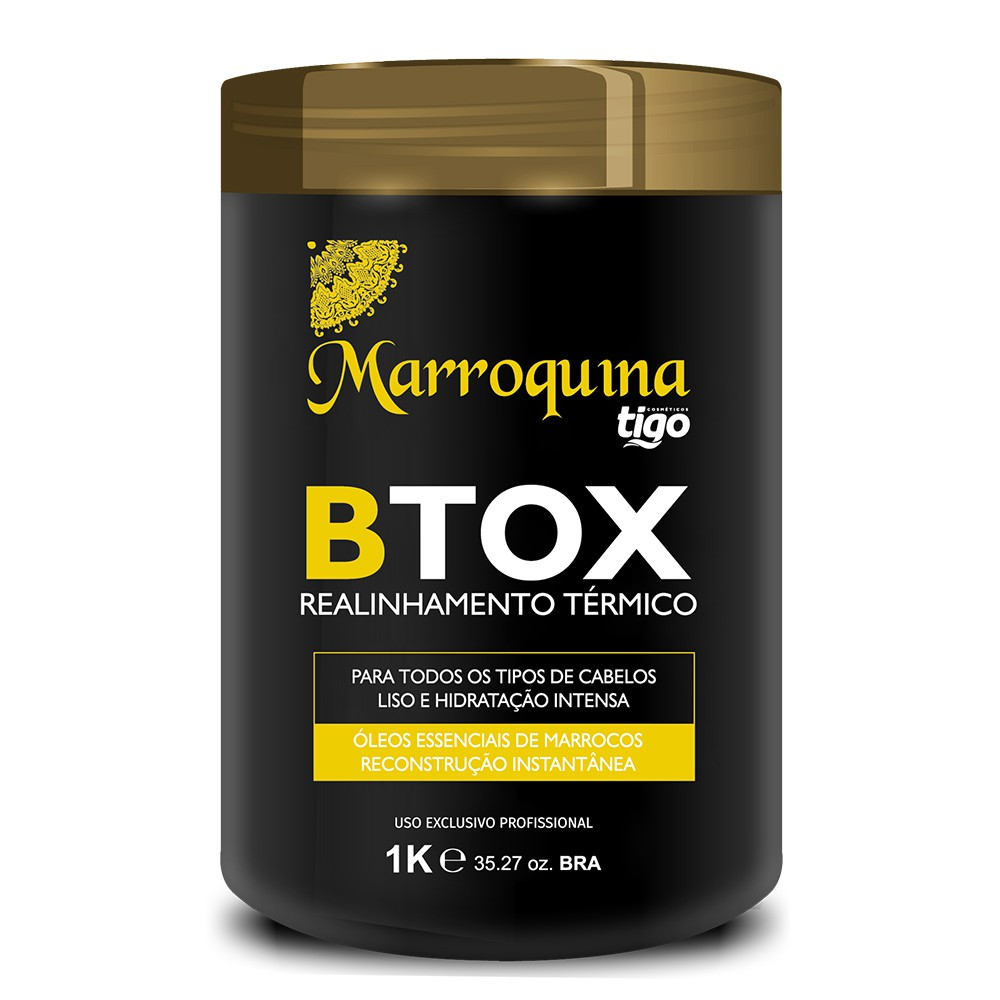 Botox Realinhamento Térmico Marroquina 1Kg