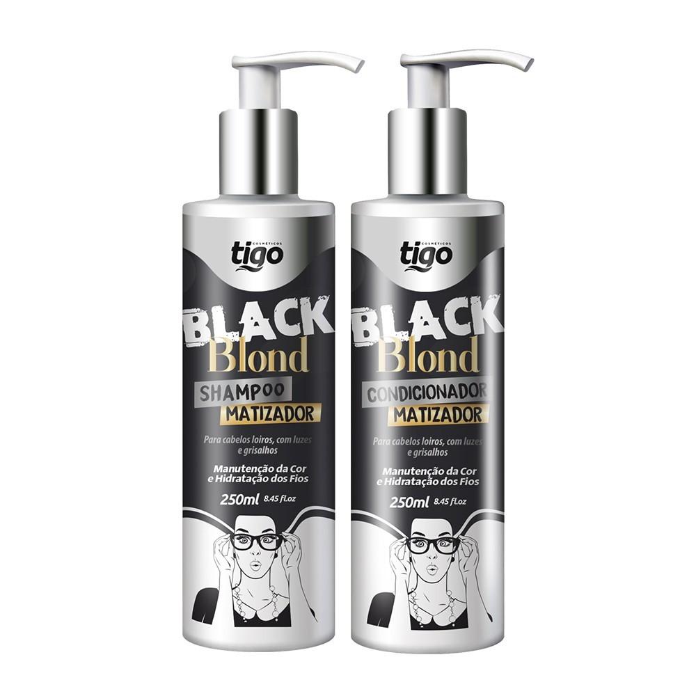 Kit Black Blond 250ml - Tigo Cosméticos