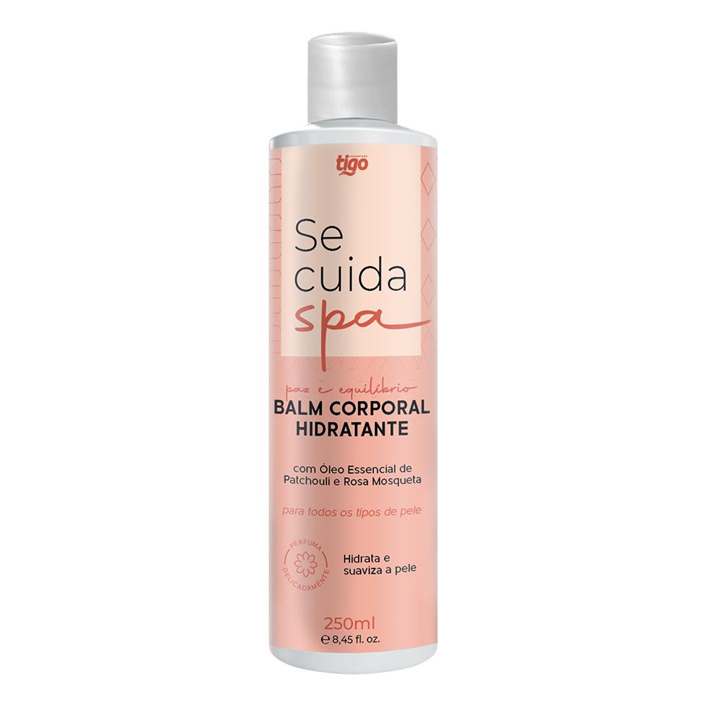 Kit Queridinhas + Balm Corporal Hidratante Se Cuida Spa 250ml Tigo Cosméticos   Ganhe 01 Shampoo