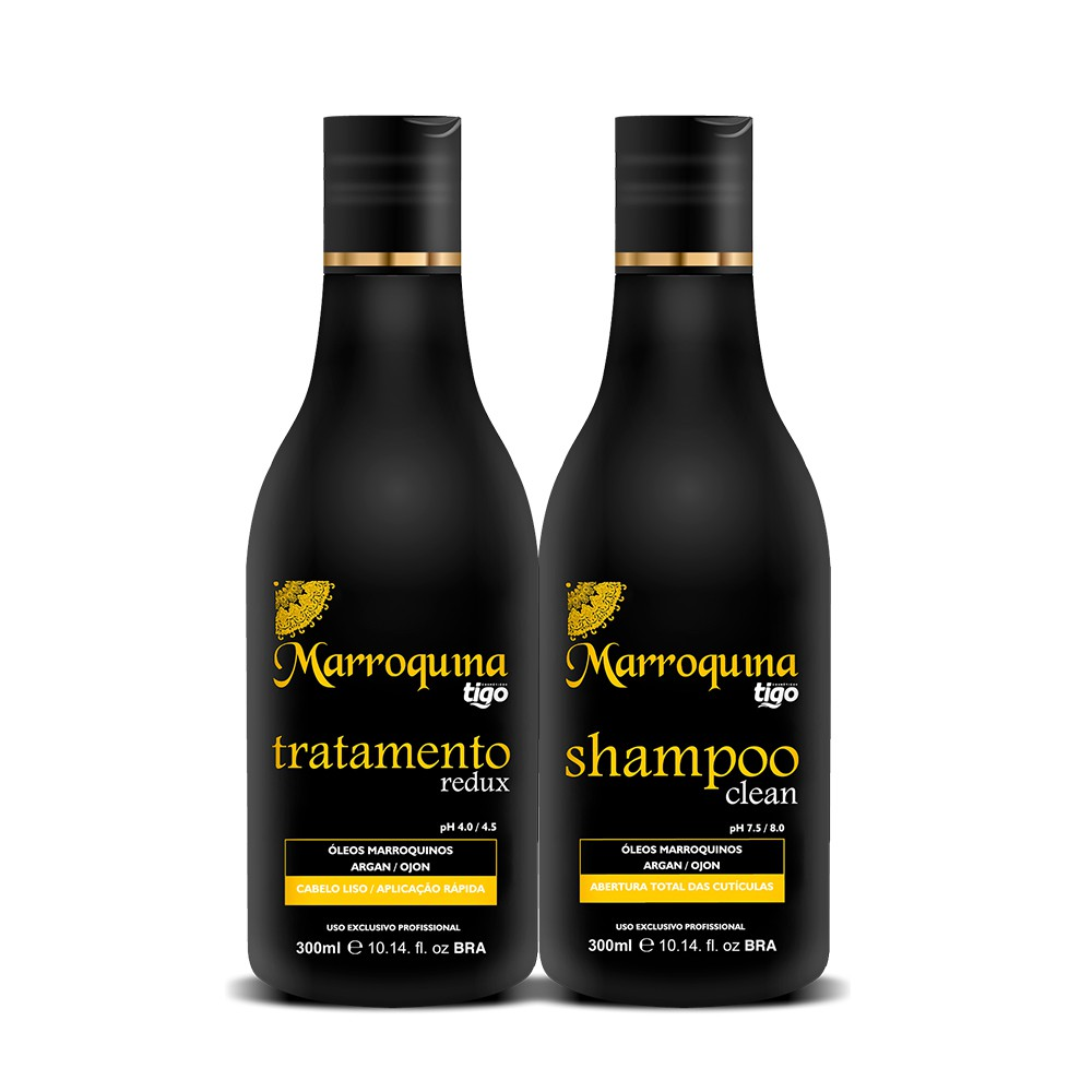 Kit Escova Progressiva Marroquina 300ml
