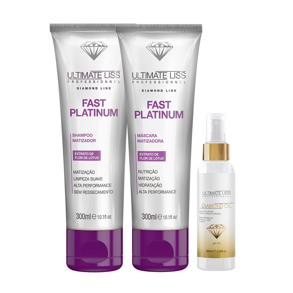 Kit Matizador Ultimate Liss + Diamond Oil