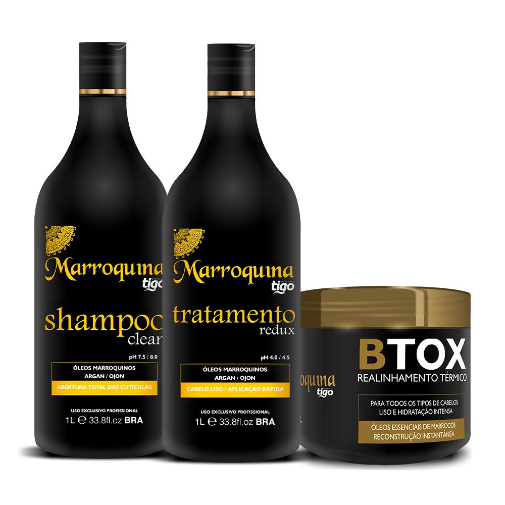Kit Progressiva Marroquina 1L + Botox 500g