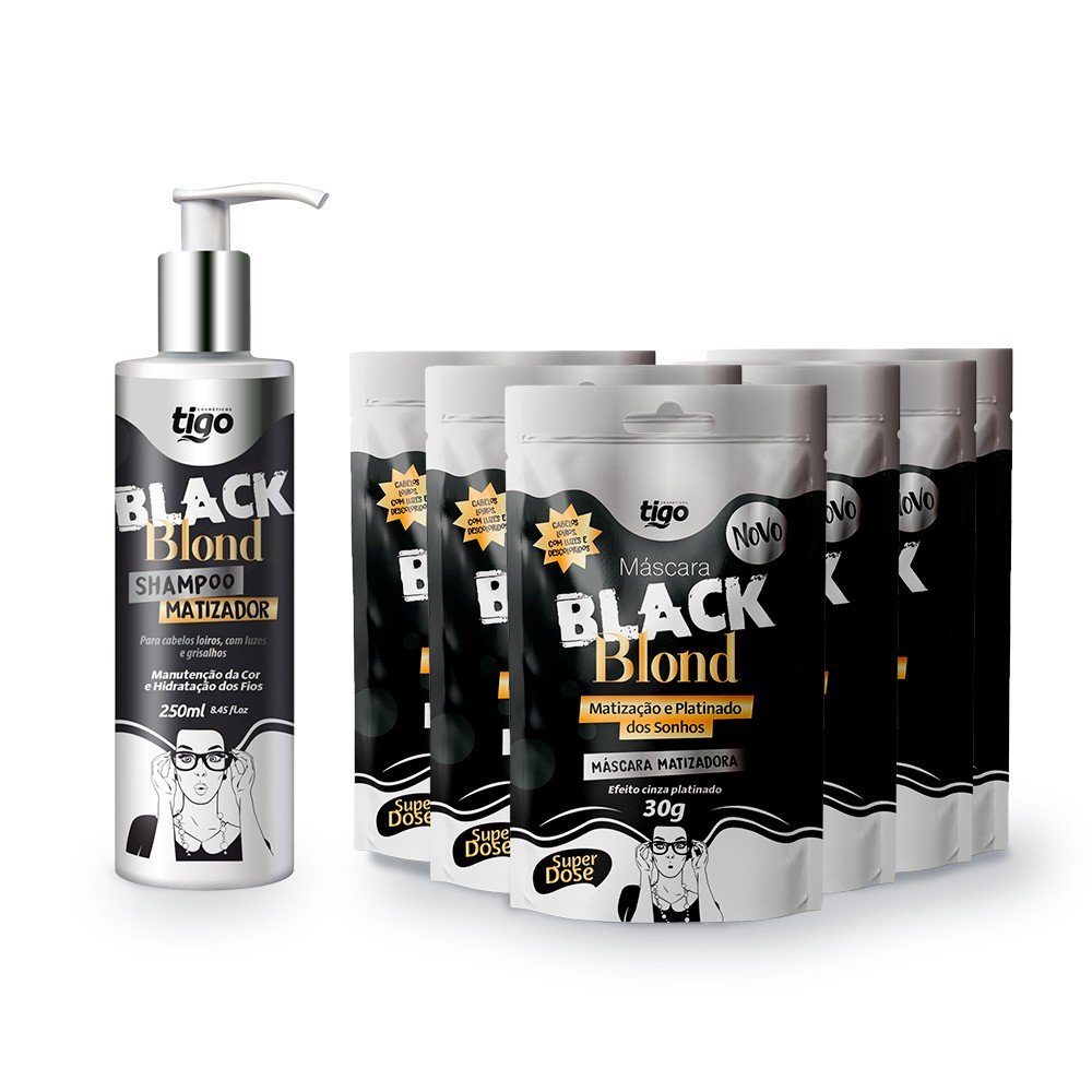 Kit Sachês Black Blond 30g