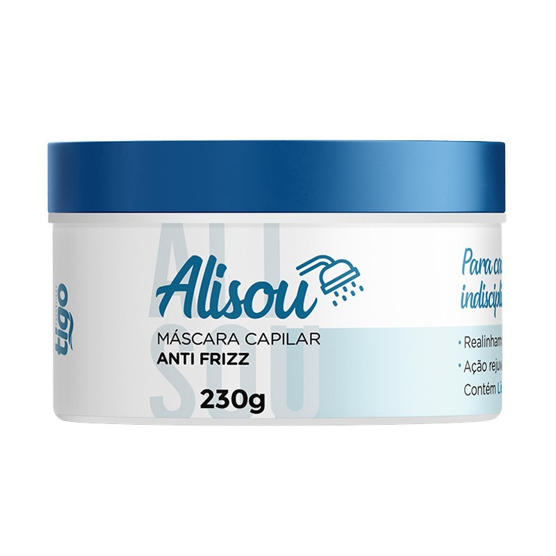 Máscara Alisou 230g | Ganhe 1 Shampoo