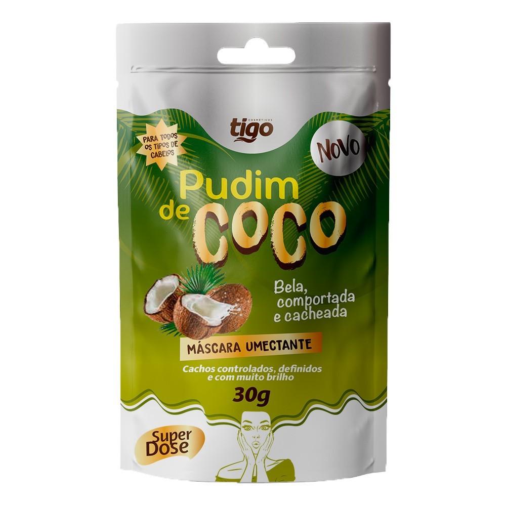 Sachê Pudim de Coco 30g - Tigo Cosméticos