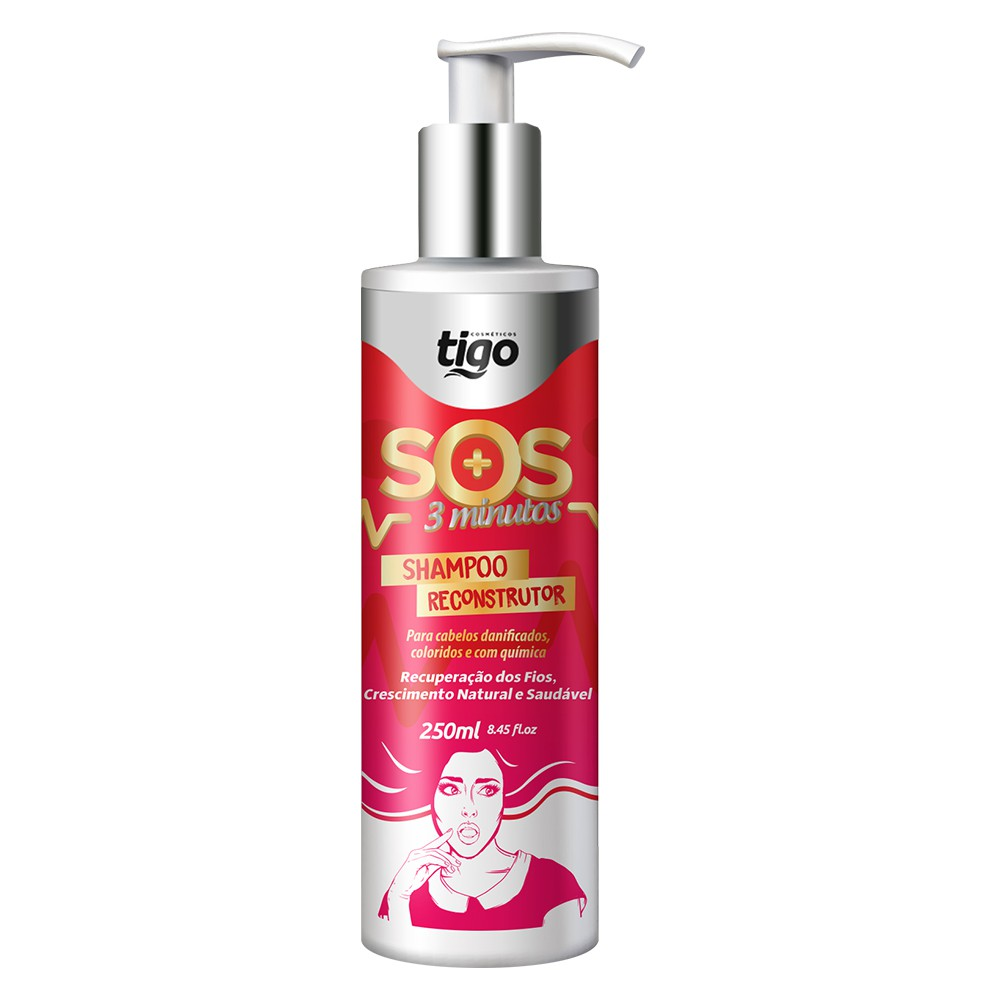 Shampoo SOS 3 Minutos 250ml