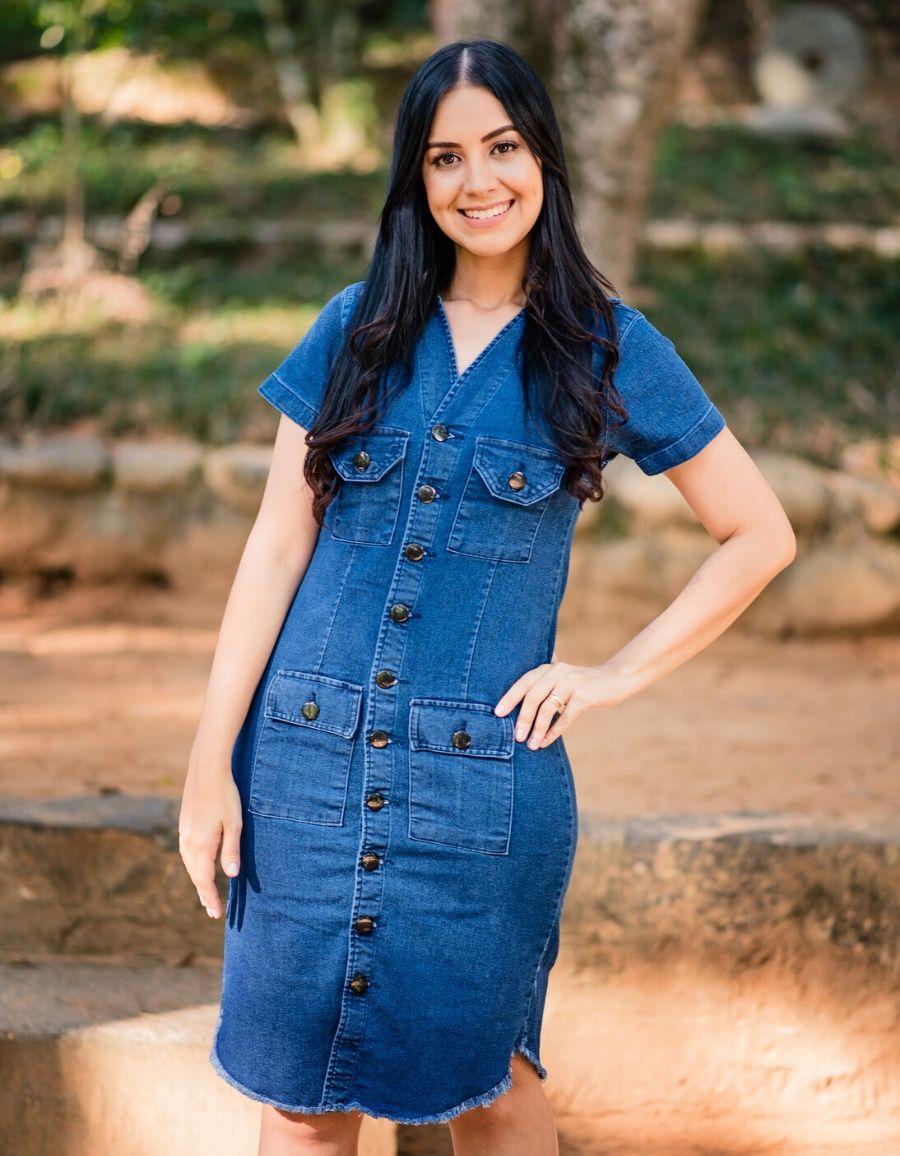 Lançamento | Vestido Jeans - Midi - Rute