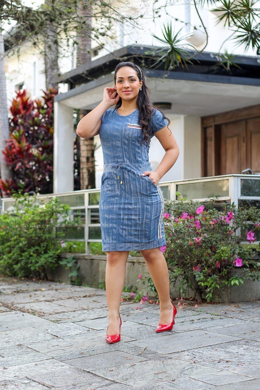 Vestido azul claro - Natália