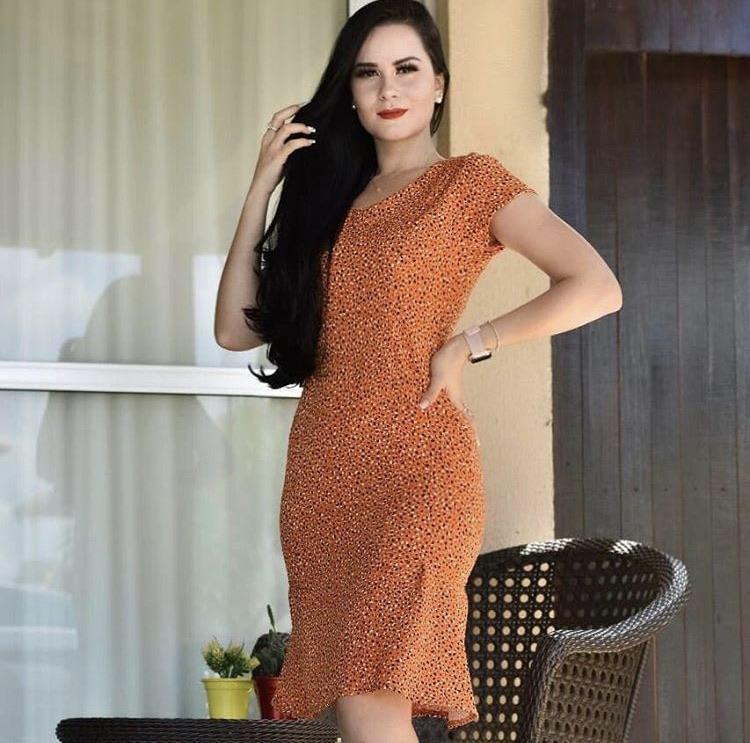 Vestido Estampado - Júlia